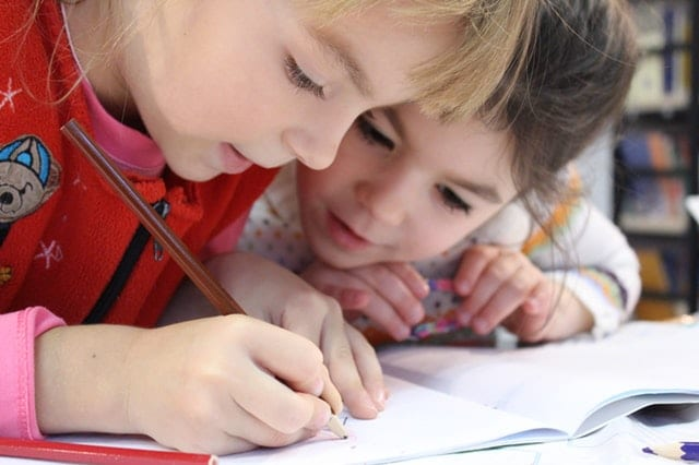 children learning with hearing loss